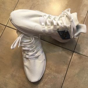 NWT White Adidas equipment Ortholite sneakers